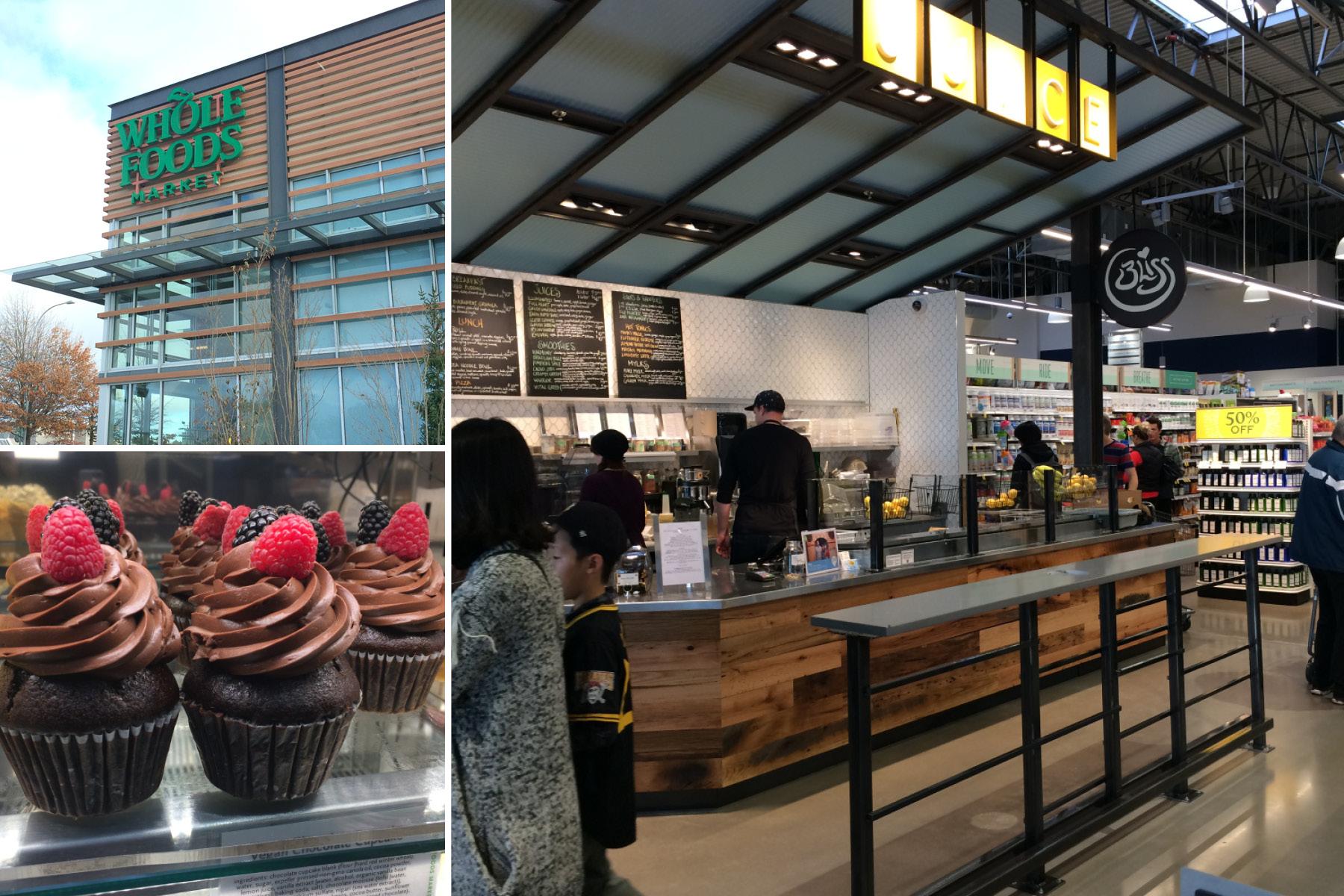 Whole Foods Grand Opening + Vegan Taste Test