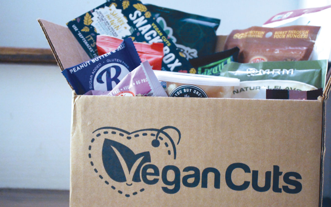 Unboxing | Vegan Cuts September 2017 Snack Box Subscription