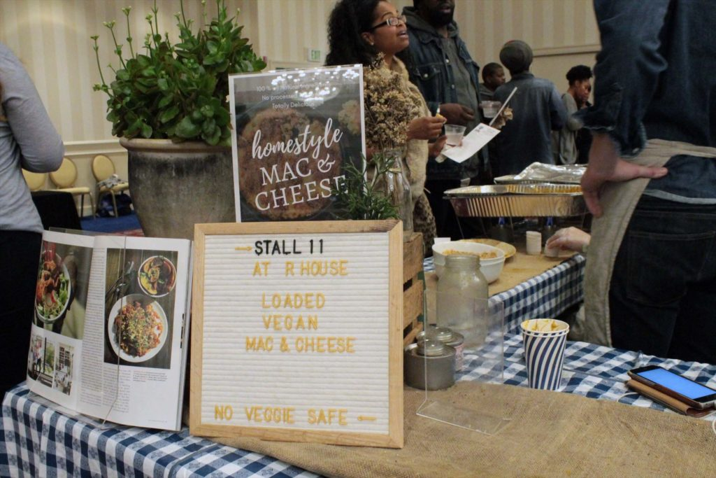 Stall 11 at the 2018 Vegan Mac n Cheese Championship