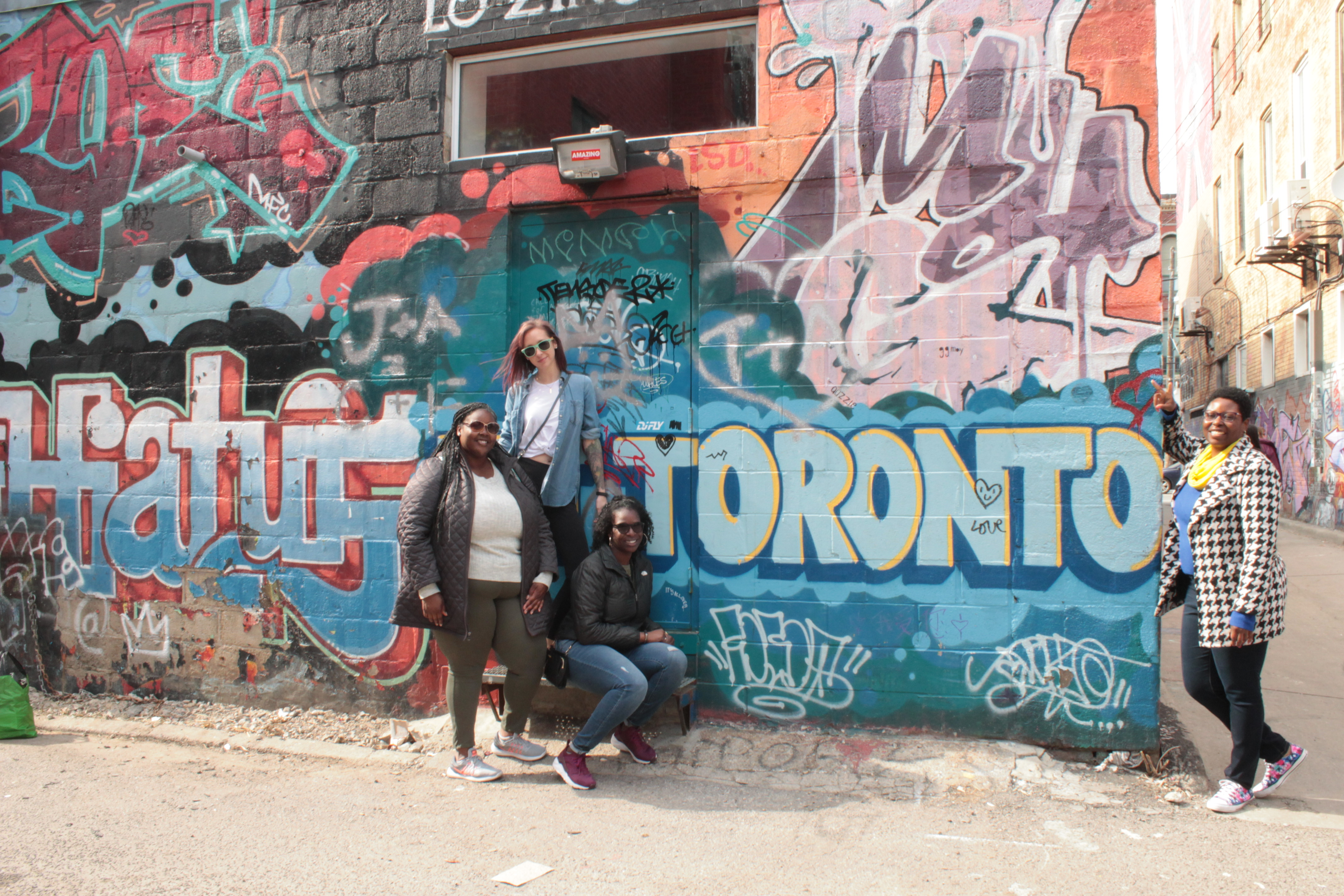 Graffiti Alley in Toronto